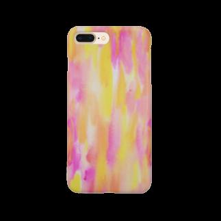♡ acco ♡ のカラフルrain♡ Smartphone cases