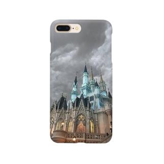 闇のシンデレラ城。 Smartphone cases