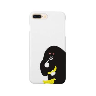 バナゴリ Smartphone cases