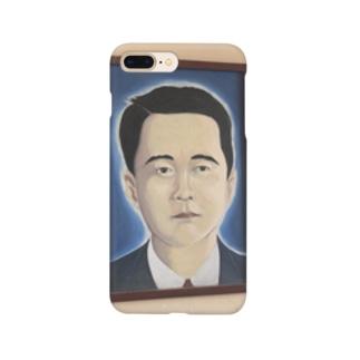 キューバの田舎町にあった日本人かと思ったら中国人の肖像画だった Smartphone cases