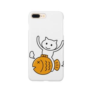 たいねこくんのグッズ Smartphone cases