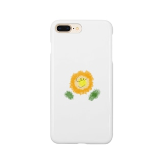 もじゃり花 Smartphone cases
