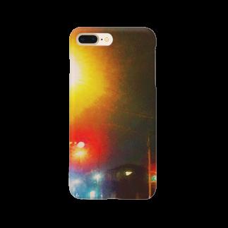 YUKATAの部屋のボワッと街灯 Smartphone cases