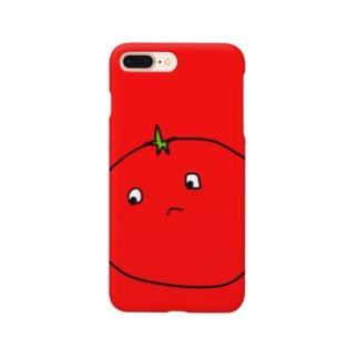 シャイなトマト Smartphone cases