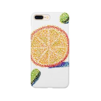 オレンジ色の恋 Smartphone cases