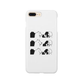 狼と娘 Smartphone cases