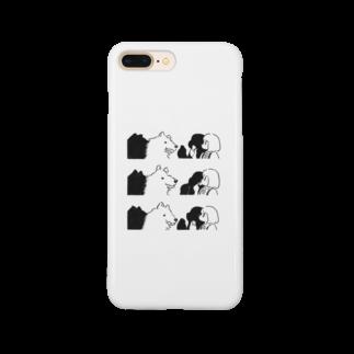 ささきわたの狼と娘 Smartphone cases