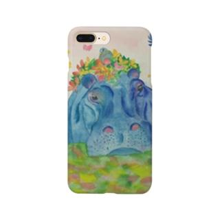 花の帽子 Smartphone cases