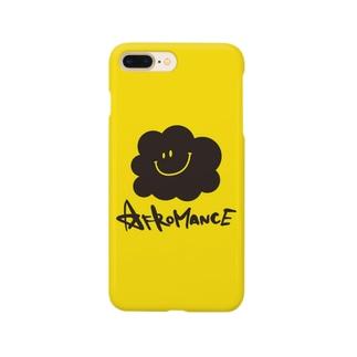アフロマンス・ロゴ(Y) Smartphone cases