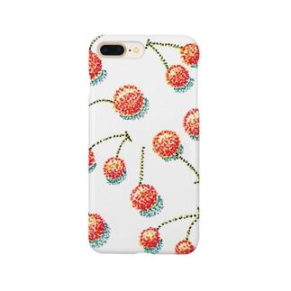 チェリー キス ミー Smartphone cases