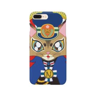 猫の駅長さん(ソマリ猫プリンちゃん)  Smartphone cases