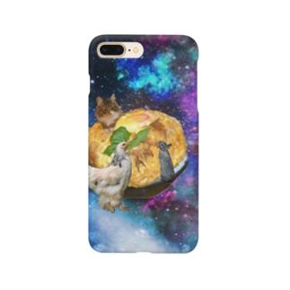space catとなかまたち Smartphone cases