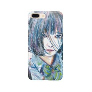 青い風 Smartphone cases
