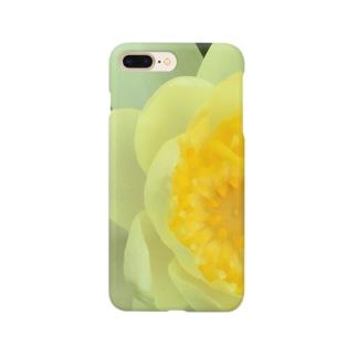 スイレンの黄色 Smartphone cases
