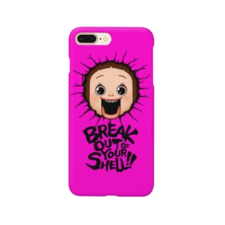 ブレイクしょーちゃん - ピンク Smartphone cases