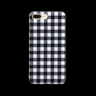 PAPER  HEKISUIのNavy Blue Smartphone cases