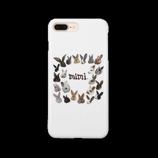 うさかふぇmimiSHOPのたちみみ主義 Smartphone cases