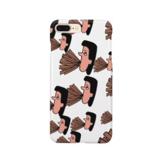 たくさんの笛を吹くたくさんの岩崎さん Smartphone cases
