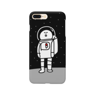 宇宙服を着た宇宙人 Smartphone cases