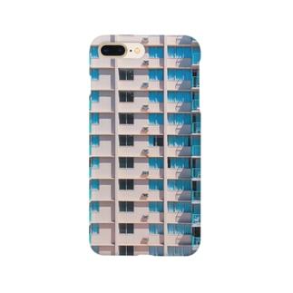 ウェスアンダーソンのようなハワイのリゾートホテル Smartphone cases