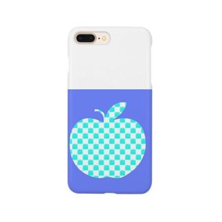 青いリンゴ Smartphone cases