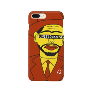 ユナイテッドおじさん 赤 Smartphone cases