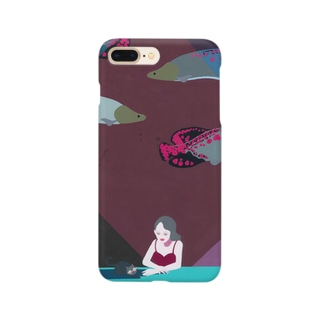 nico&ice storeの水眠の態度 Smartphone cases