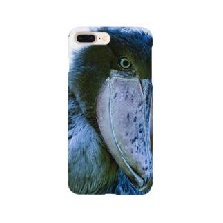 ハシビロコウさん1 Smartphone cases