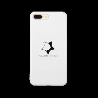 ヤマガタ未来Lab.のヤマガタ未来Lab.オリジナルグッズ Smartphone cases
