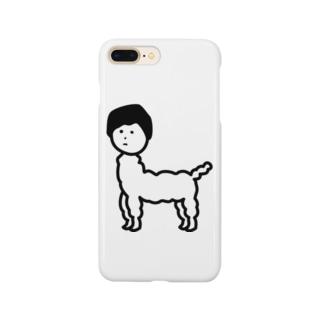じんめんアルパカ Smartphone cases