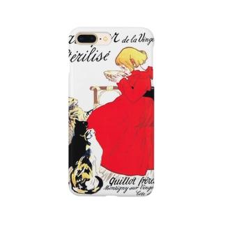 スタンラン『 ヴァンジャンヌの殺菌牛乳のポスター 』 Smartphone cases