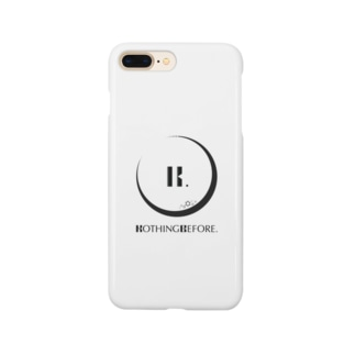 Nothing Before ロゴ Smartphone cases