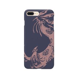 蟲王ロゴ2 Smartphone cases