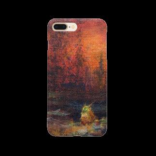 月ノ子の森に恋してのムラナギ/ナインライヴスの棲む沼 Smartphone cases