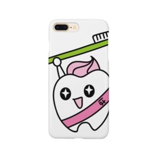 歯りきり雑貨店の歯りきり Smartphone cases