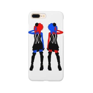 赤青少女 Smartphone cases