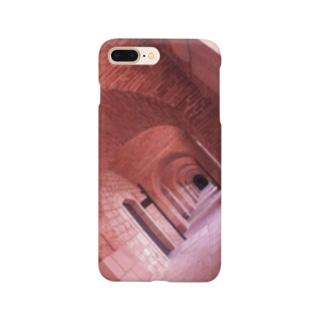 渋いレンガ壁 Smartphone cases