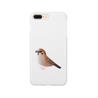 スズメちゃん Smartphone cases