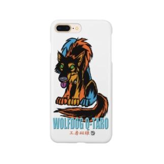 狼犬Q太郎 Smartphone cases