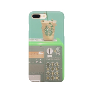 バックスと公衆電話 Smartphone cases