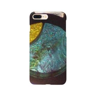 モニュメント・ブルー Smartphone cases