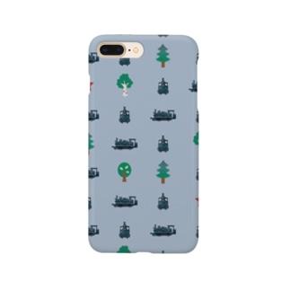 SL★クラウス柄 Smartphone cases