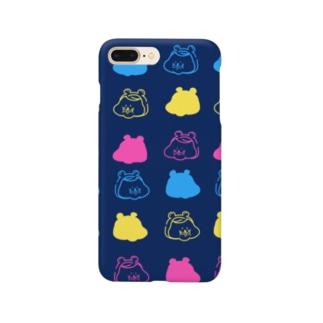 ハムオ 紺 Smartphone cases