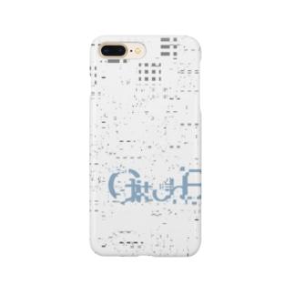 White noise (GlitchBuilt Logo) Smartphone cases