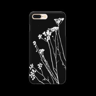 mika_designのその辺の草5 Smartphone cases