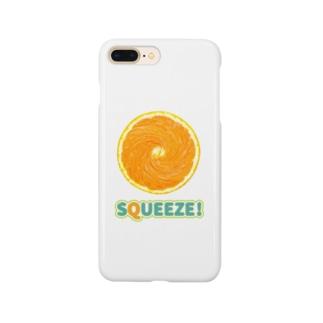 Squeeze!  Orange Smartphone cases