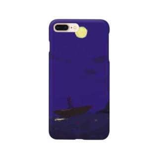 よるのお散歩 Smartphone cases