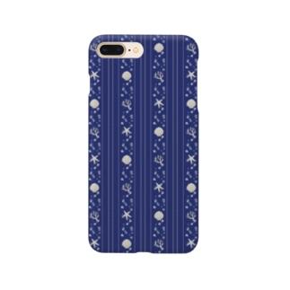seastripe-night Smartphone cases