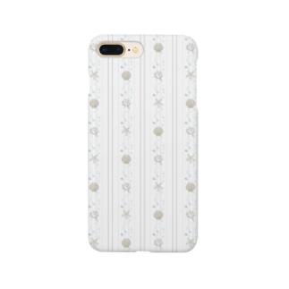seastripe-snow Smartphone cases