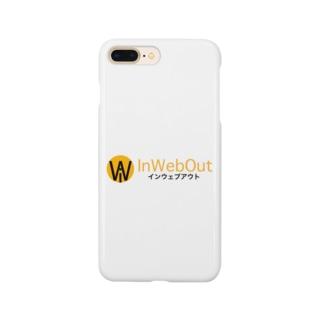 インウェブアウトオンラインストアのインウェブアウトロゴ小物 Smartphone cases